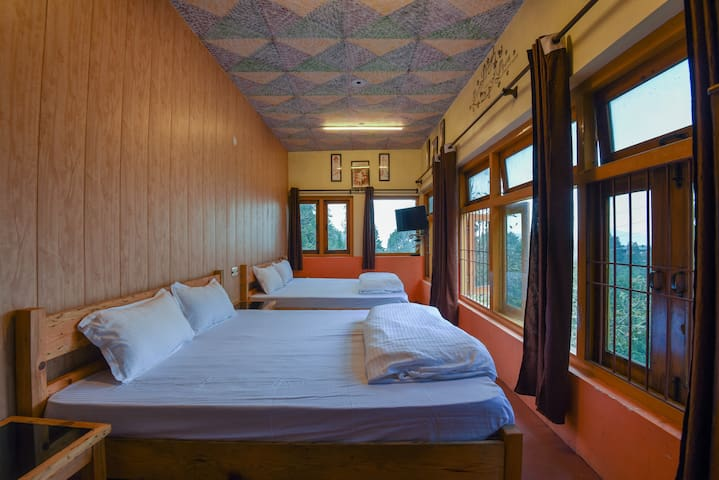 4U Rooms - moderne with Himalaya view, terrace.