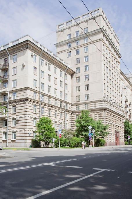 50s Stalin's building