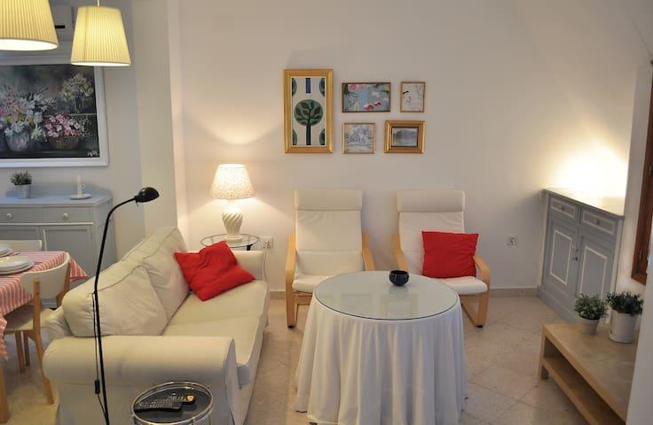 Ático muy luminoso con terraza  - Prado del Rey - Apartment