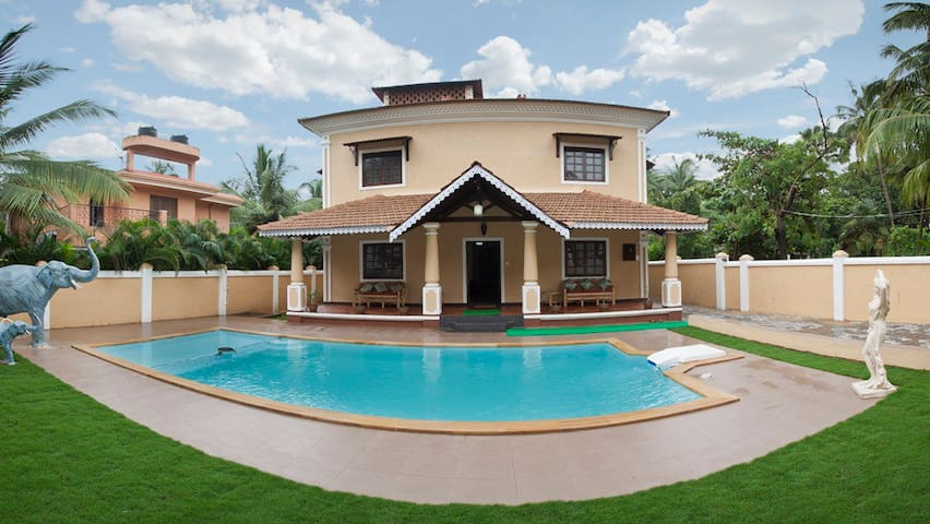 7BHK Private Swimming Pool Villa @Villa Calangute5 - Calangute - House
