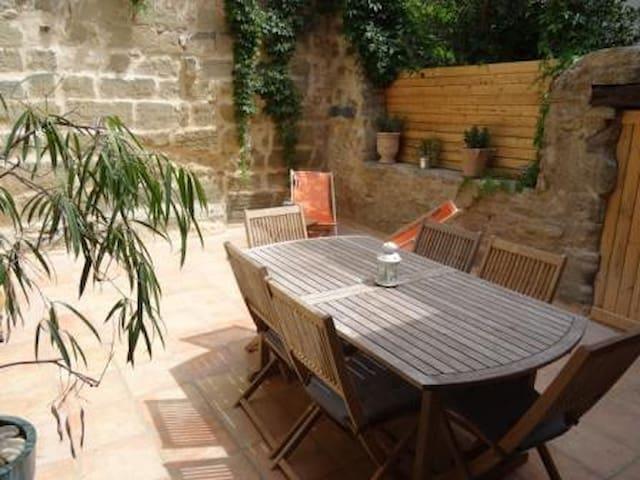 charme et confort pour 8 personnes - Saint-Quentin-la-Poterie - Apartment