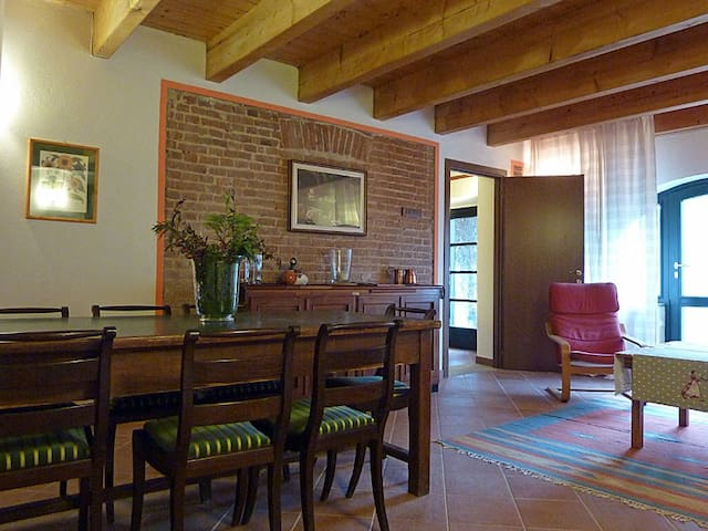 Cozy cottage Monferrato countryside
