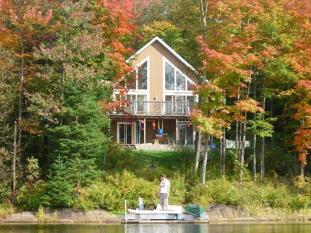 Chalet-maison bord de lac - Gore - House