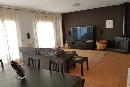 Big apartment in the center of Bagà - Bagà - Wohnung