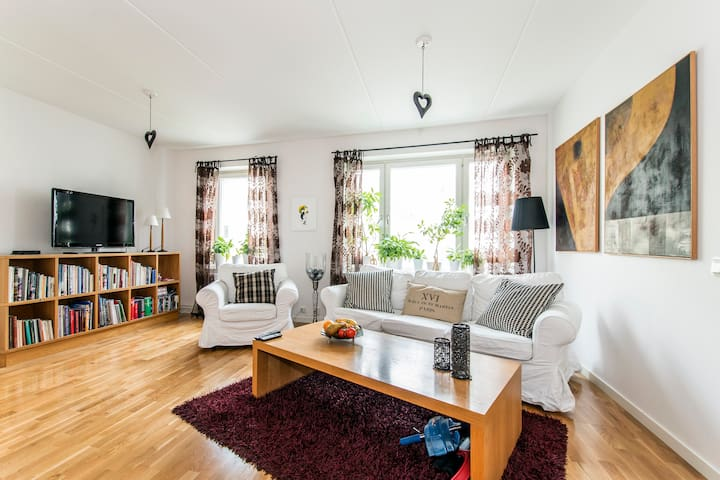 200 m to bath, close to city - Stockholm - Byt