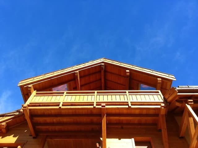 Exclusive appartment facing the slopes - Saint-Chaffrey - Pis