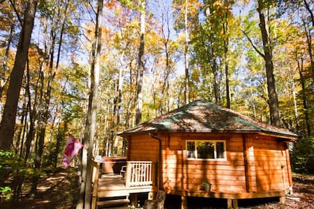 The top 20 yurts for rent in west virginia airbnb for Charlottesville cabin rentals hot tub