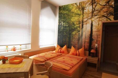 Doppelzimmer 105 Zum Strand 450m - Ostseebad Heringsdorf - Rumah