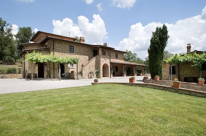 Agriturismo Incrociata DISPENSA - Bucine - Appartement