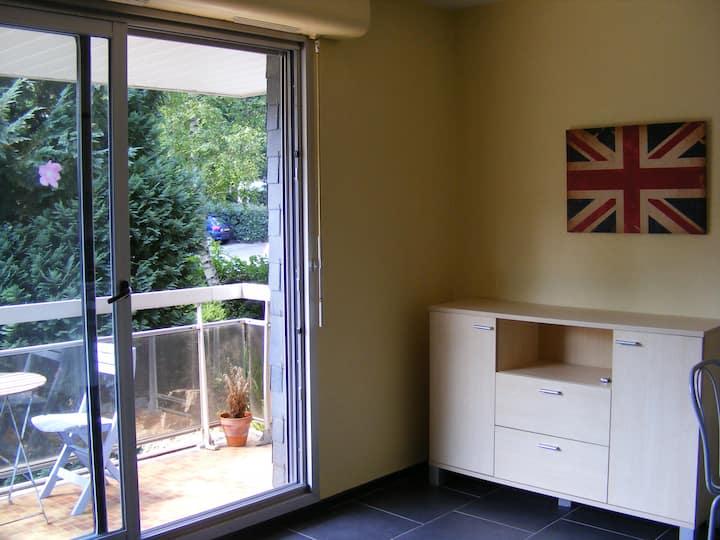 studio avec terrasse a vannes