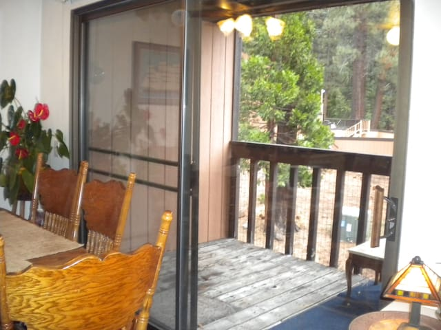 Deck off dining foom