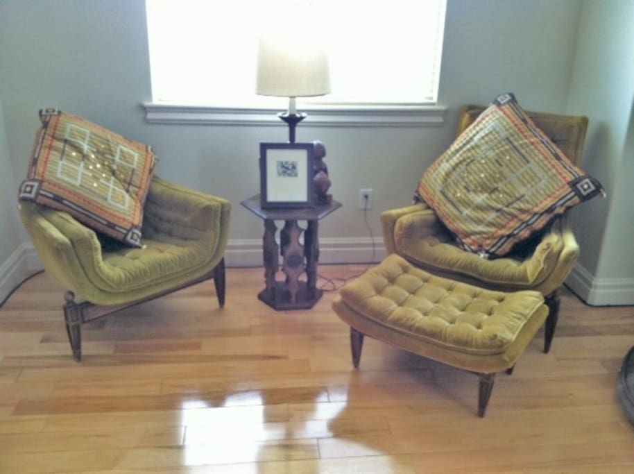 Unique, comfortable furnishings collected from around the world