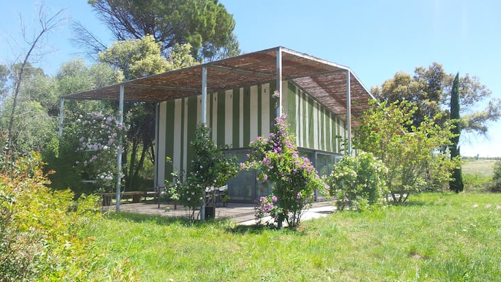 the house of the forest in Gaüses