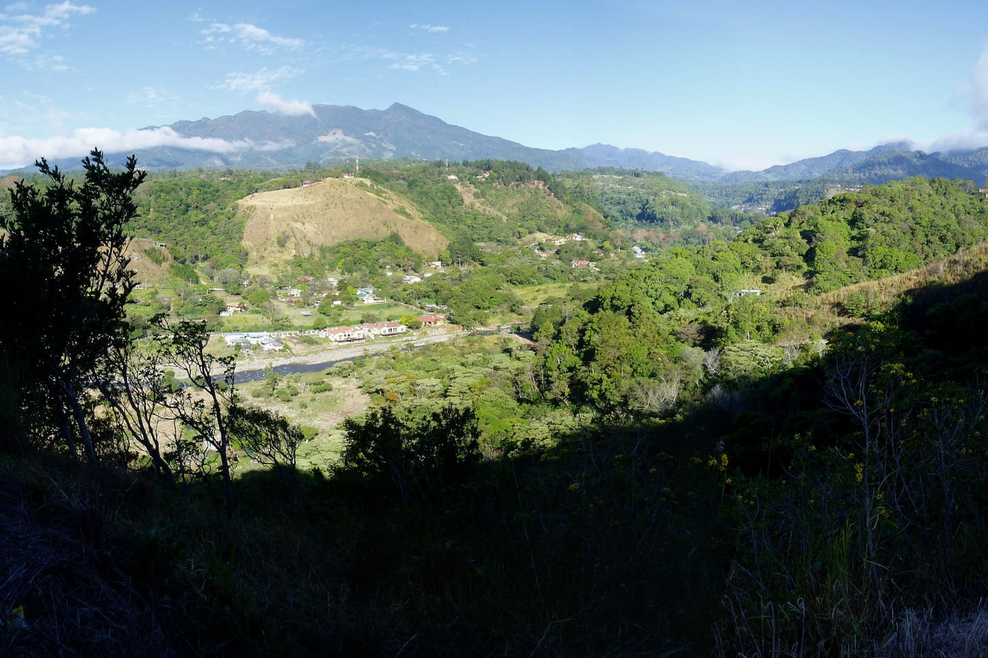 View of Boquete from the shoulders of Volcan Baru