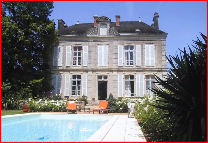 Villa Bonna- maison de famille 10 personnes -300M2