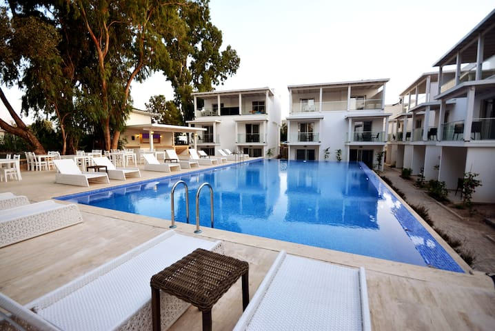 BD245-Bodrum 1 bedroomed Flat ina complex - Bodrum - Apartment