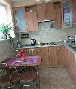 Studio-big room witch kitchen,bathroom and balcony - Minsk Mazowiecki - Appartement