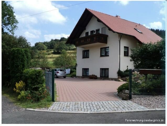 Ferienwohnung Inselbergblick - Brotterode-Trusetal - House