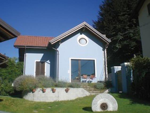 la casa blu - Meina Lago Maggiore - Meina - Niezależne mieszkanie