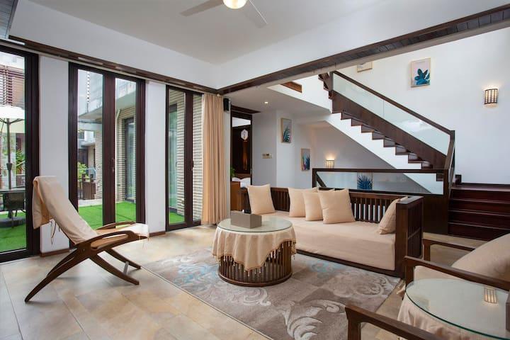 博鳌亚洲湾豪华别墅,三房家庭出游好选择XH2