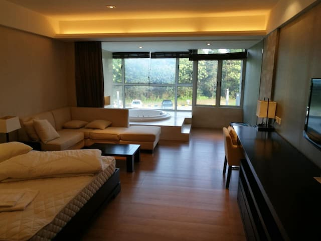 黄山高尔夫精品公寓 golf resort apt Yellow mountain