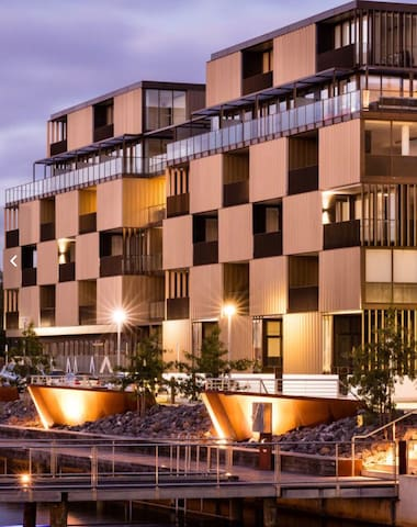 Foreshore new apartment with lake view in Canberra