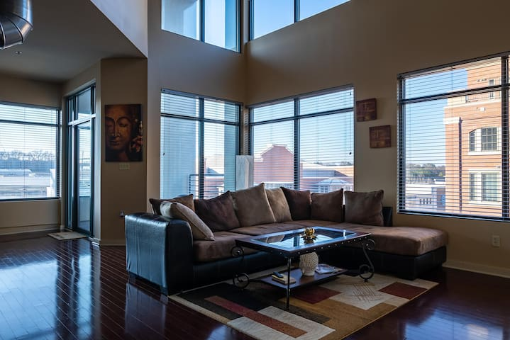 Modern Room With A View Near Piedmont Park