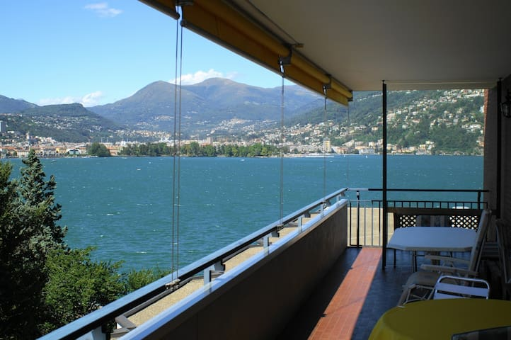 Balkon mit Seesicht