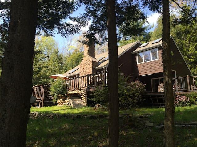 Hunter Mountain ski house. Mountaintop Retreat. - Elka Park - Casa