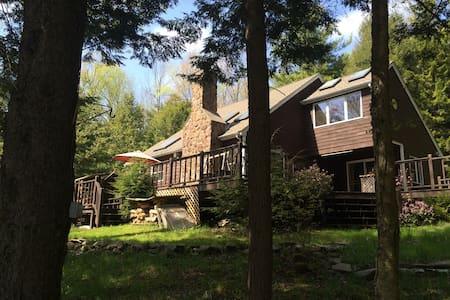 Hunter Mountain ski house. Mountaintop Retreat. - Elka Park - Haus