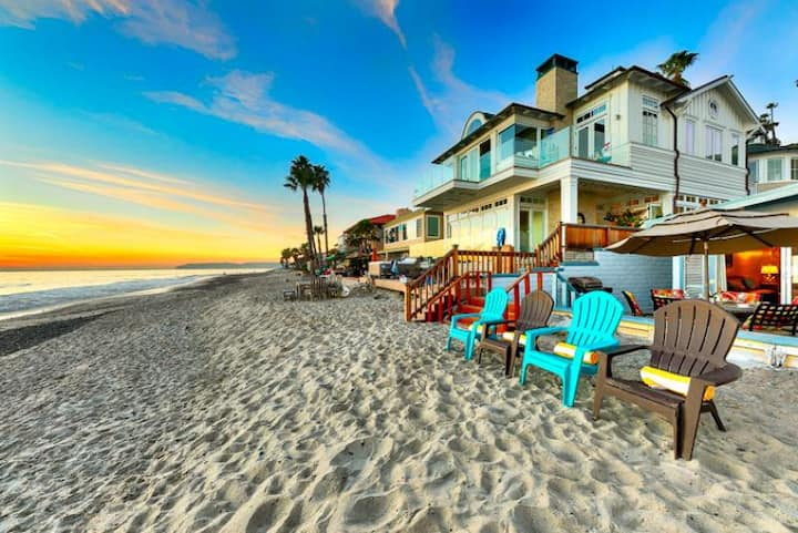 Oceanfront, 2 Units in 1, Amazing Location + Seclusion