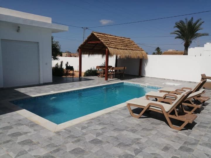 Villa Djerba midoun 100% sans vis à vis