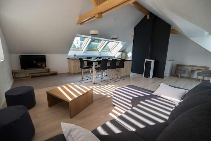 Duplex**** Neuf pour 6 pers/ 200m du Lac d'Annecy