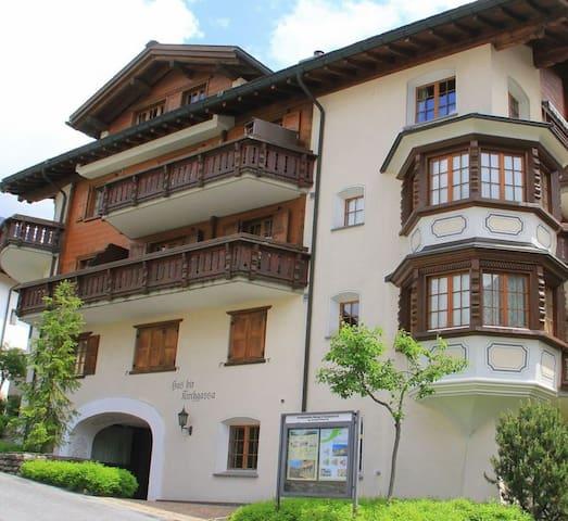 Amazing Klosters Platz location!! Duplex apartment