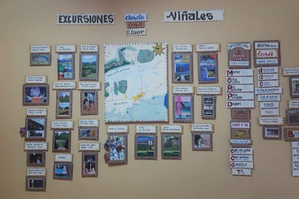 Mural: Excursiones variadas!!!
