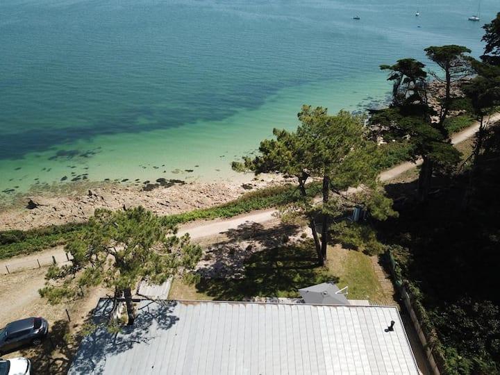 Villa face mer Kerhostin SAINT PIERRE QUIBERON