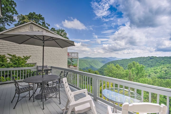 Roaring Gap Resort Home w/ Panoramic Views!