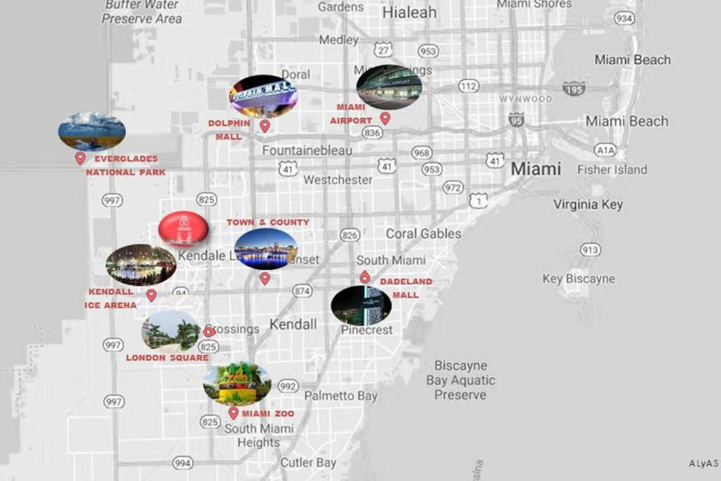 Located in the center of Kendall!