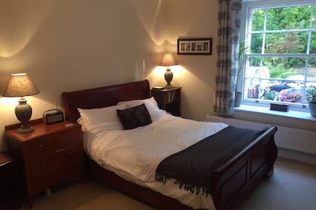 Spacious double in Clifton garden flat - Apartamento