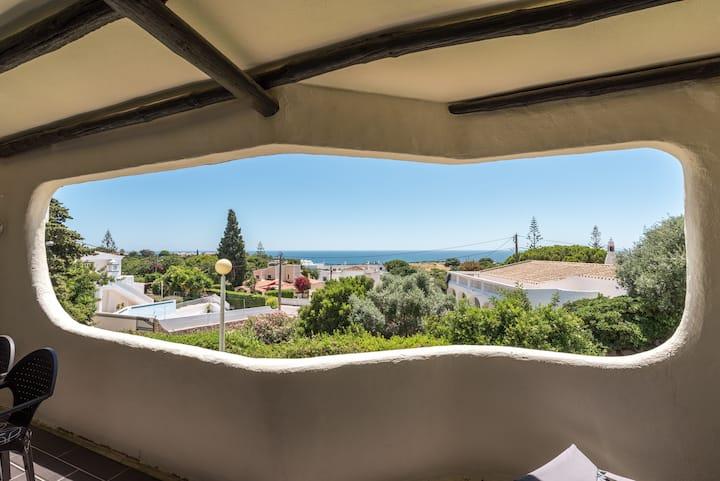 Appartement calme vue sur mer Carvoeiro