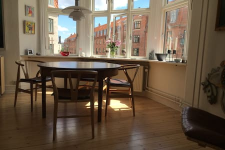 Cosy and light three room apartment - København - Apartment
