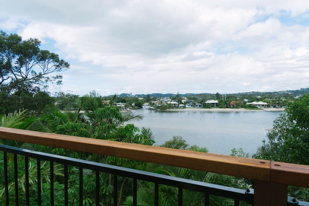 View from your private deck!