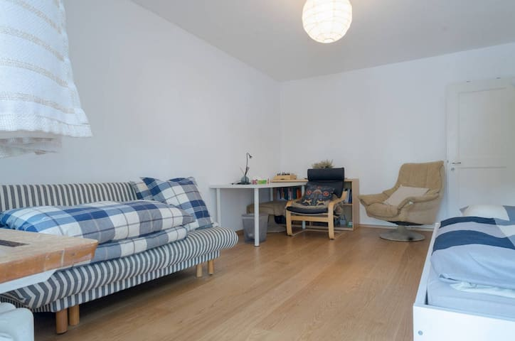 Cute apartment, close to transportation and park - Zürich - Lägenhet