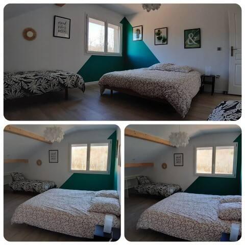 Chambre 3 à l'étage 25m²