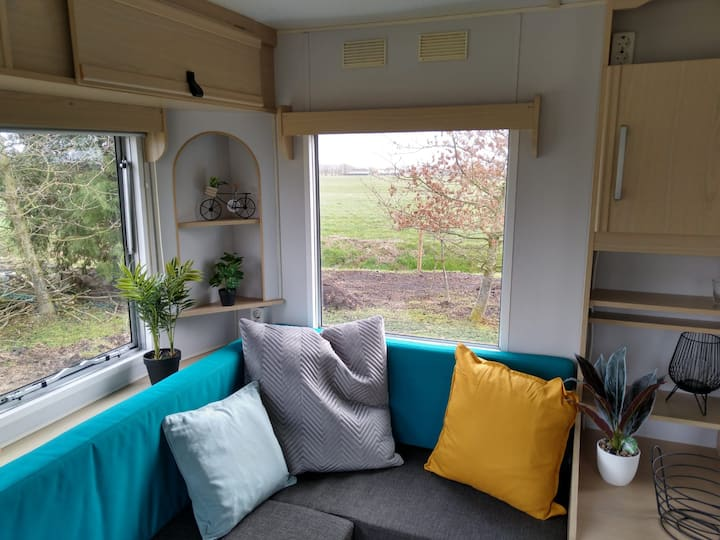 Tiny House in de Groningse weilanden