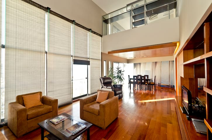 Penthouse Miraflores Amazing view  - Miraflores District - Apartment