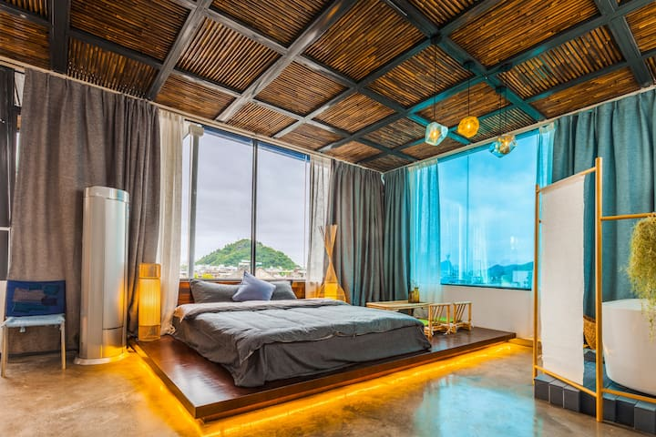 Huxi B&B Homes, Scenery view Zen-inspired suite