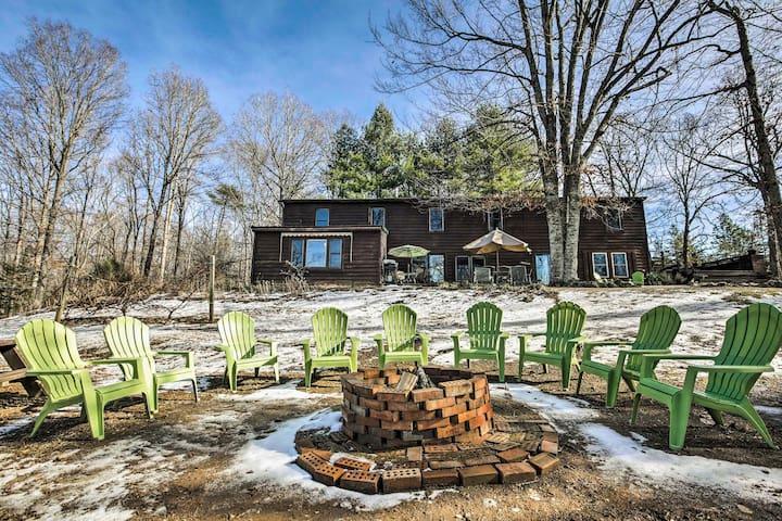 NEW! 4BR Appomattox County Home on 97-Acre Estate!