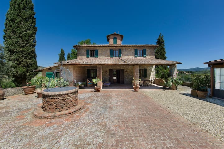 LUXURY TUSCAN VILLA IN CHIANTI WITH PRIVATE POOL - Impruneta - Villa