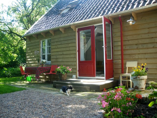 Sfeervol vakantiehuisje, Friesland